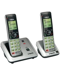 VTECH CS6619-2 DECT 6.0 CORDLESS PHONE WITH 2 HANDSETS (80-8612-00) CS6619-2