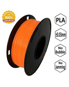 NOVAMAKER 3D Printer Filament - Orange 1.75mm PLA Filament PLA 1kg(2.2lbs) Dimensional Accuracy +/- 0.03mm NV-PLA175-OR