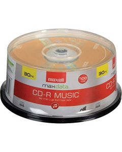 Maxell 625335 High-Sensitivity Recording Layer Recordable CD (Audio Only) 700mb/80 min 625335