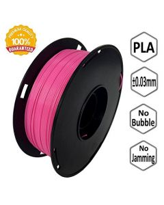 NOVAMAKER 3D Printer Filament - Pink 1.75mm PLA Filament PLA 1kg(2.2lbs) Dimensional Accuracy +/- 0.03mm NV-PLA175-PI