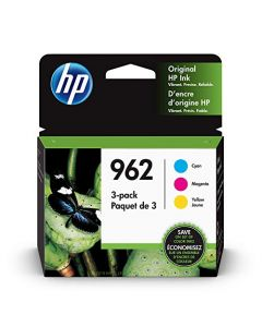 HP 962 | 3 Ink Cartridges | Cyan Magenta Yellow | 3HZ96AN 3HZ97AN 3HZ98AN 3JA04AN#140