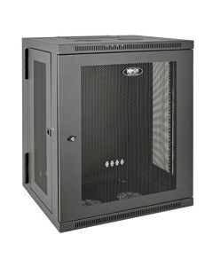 "Tripp Lite 15U Wall Mount Rack Enclosure Server Cabinet Hinged 20.5"" Deep Switch-Depth (SRW15US) SRW15US"