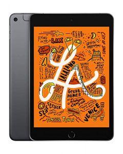 Apple iPad Mini (Wi-Fi + Cellular 64GB) - Space Gray (Latest Model) MUXF2LL/A