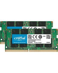 Crucial 16GB Kit (8GBx2) DDR4 2400 MT/S (PC4-19200) SR x8 SODIMM 260-Pin Memory - CT2K8G4SFS824A CT2K8G4SFS824A