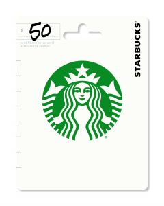 Starbucks $50 Gift Card Traditional