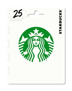 Starbucks $25 Gift Card Traditional