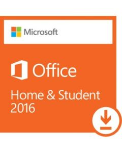Microsoft Office 2016 Home & Student License 1 PC Non-commercial Word 2016 Excel 2016 PowerPoint 2016 OneNote 2016 Electronic All Languages PC