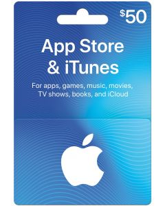 App Store & iTunes $50 Gift Cards