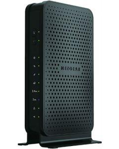 Netgear® C3700 8x4 DOCSIS 3.0 Cable Modem N600 Dual Band 2.4/5GHz Wireless-N 802.11n Gigabit Router
