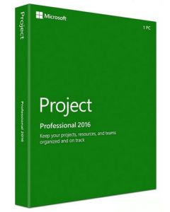 Microsoft Project 2016 Professional License 1 PC Download All Languages PC