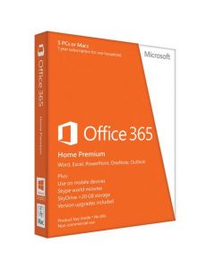 Microsoft Office 365 Personal 32/64-bit Subscription License 1 PC/Mac 1 Phone 1 Tablet 1 Year Download Handheld Mac PC