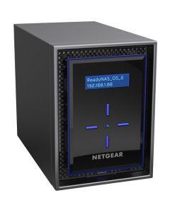 NETGEAR ReadyNAS RN422 2-bay Desktop NAS 4x4TB Enterprise HDD (RN422E4-100NES)