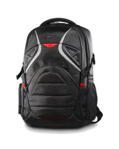 Targus STRIKE TSB900US Carrying Case (Backpack) for 17.3 in Notebook - Black, Red TSB900US