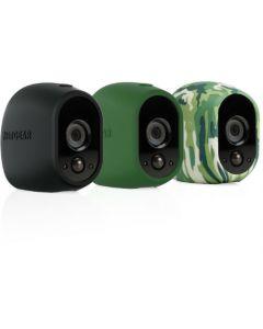 Netgear® VMA1200 Arlo™ Replaceable Silicone Skins (Black/Green/Camo)