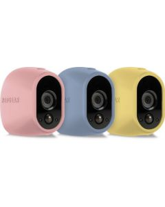 Netgear® VMA1200C Arlo™ Replaceable Silicone Skins (Pink/Blue/Yellow)