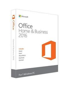Microsoft Office 2016 Home & Business License 1 License Download All Languages Intel-based Mac