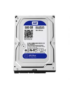"""Western Digital Blue WD5000AZLX 500 GB 3.5"""" Internal Hard Disk Drive (HDD) SATA III 6.0Gb/s 7200 RPM 32 MB (20PK)"""