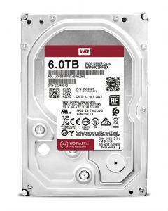 """Western Digital Red Pro WD6003FFBX 6 TB 3.5"""" Internal Hard Disk Drive (HDD) SATA III 6.0Gb/s 7200 RPM 256 MB (20PK)"""