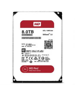 "Western Digital Red WD80EFZX 8 TB 3.5"" Internal Hard Disk Drive (HDD) SATA III 6.0Gb/s 5400 RPM 128 MB"