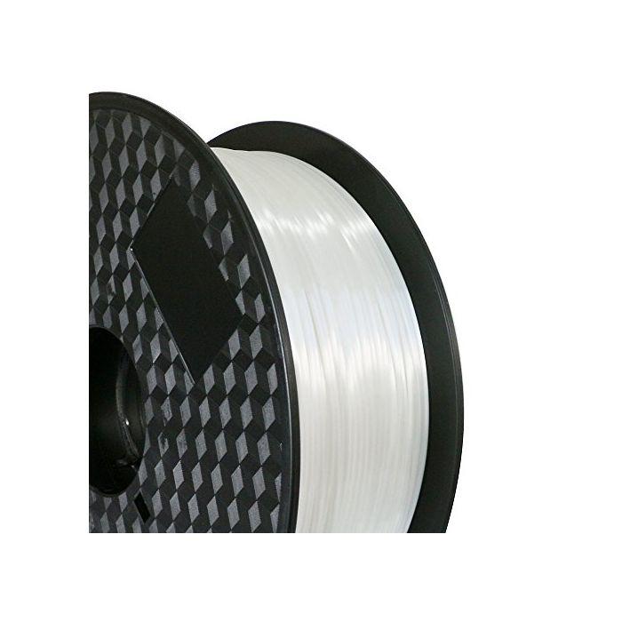 Silk-Like Filament 1.75mm Silver Grey 1kg Spool