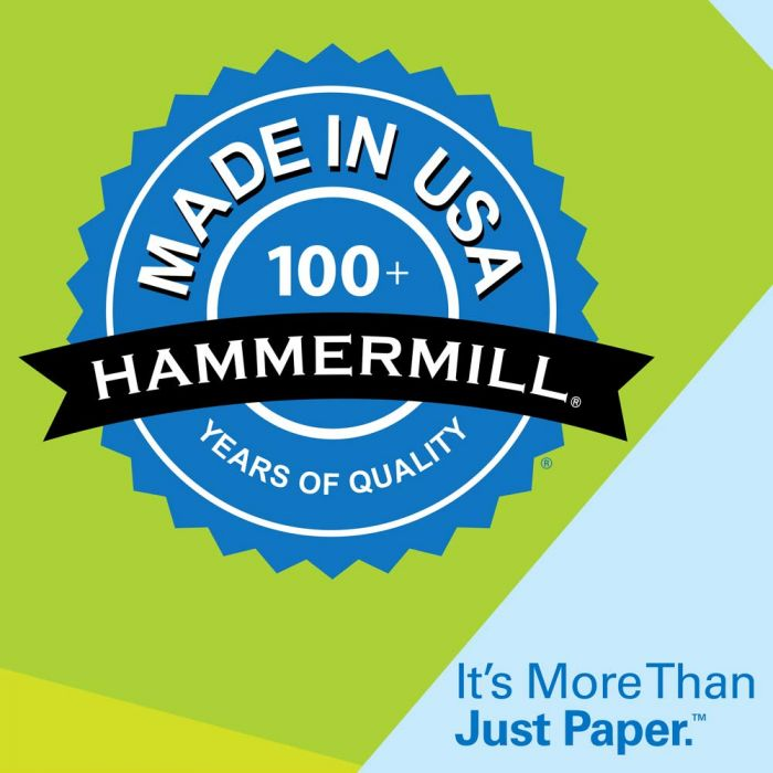 20lb 8.5 x 11 Copy 92 Bright 1,500 Sheets // 3 ream Letter Hammermill Paper