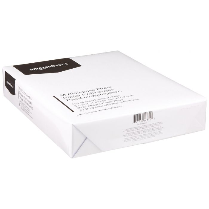 10 Reams 5000 Sheets Total Multipurpose Copy Paper 8.5 x 11 Inch Letter size