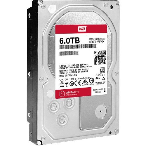 Western Digital Red Pro Wd6002ffwx  5 Internal Hard Disk Drive Hdd