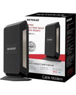 NETGEAR DOCSIS 3.1 Gigabit Cable Modem. Max download speeds of 6.0 Gbps For XFINITY by Comcast Spectrum and Cox. Compatible with Gig-Speed from Xfinity (CM1000) CM1000-100NAS