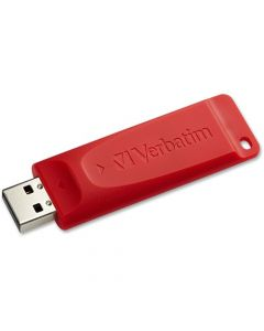 Verbatim 32GB Store n Go USB Flash Drive Red 32GB USB Red 1 Pack Password Protection Available STORE N GO RED 96806