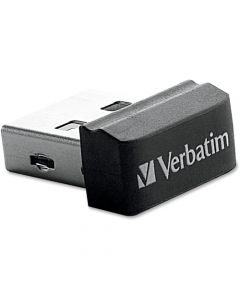 Verbatim 16GB Store n Stay Nano USB Flash Drive Black 16 GB USB Nano Black 1 Pack STORE N STAY NANO DESIGN 97464