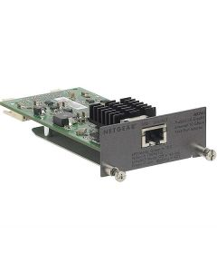 NETGEAR 1 port 10 Gigabit RJ45 module for M5300 series rear I/O bays (AX745-10000S)