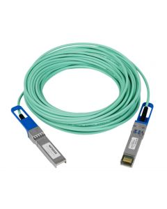 NETGEAR Direct Attach Duplex Fiber Optic Cable for 10 Gigabit SFP+ Active 15 meters (AXC7615-10000S)