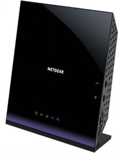 Netgear® D6400 High-speed VDSL2/ADSL Modem AC1600 Dual Band 2.4/5GHz Wireless-AC 802.11ac Gigabit Router