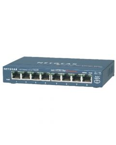 NETGEAR FS108 ProSAFE 10/100 Desktop Switches eight (8) 10/100Mbps auto speed-sensing UTP ports (FS108NA)
