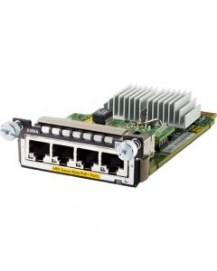 Aruba 3810M / 2930M 4 1/2.5/5/10 GbE HPE Smart Rate Expansion Module - For Data Networking10 Gigabit Ethernet - 10GBase-X POE+ JL083A