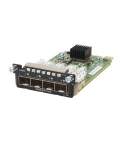 Aruba 3810M / 2930M 4 x SFP+ MACsec Module For Data Networking Optical Network Optical Fiber 10 Gigabit Ethernet 10GBase-X4 x Expansion Slots SFP+ JL083A