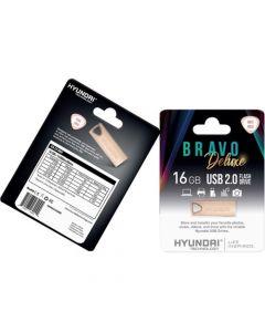 Hyundai Bravo Deluxe 2.0 USB 16 GB USB 2.0 Rose Gold GOLD