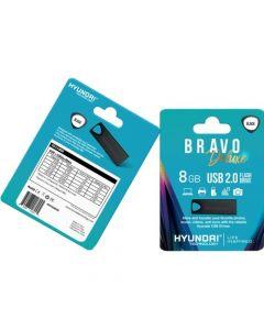Hyundai Bravo Deluxe 2.0 USB 8 GB USB 2.0 Black BLACK