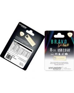 Hyundai Bravo Deluxe 2.0 USB 8 GB USB 2.0 Gold GOLD