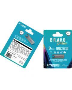 Hyundai Bravo Deluxe 2.0 USB 8 GB USB 2.0 Gray GRAY