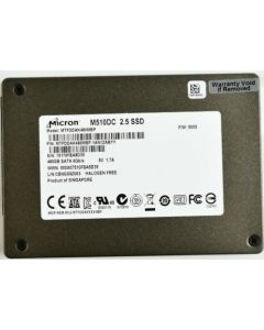 "Micron M510DC 120GB 2.5"" SATA III Internal Solid State Drive Not Encrypted SSD SSD MTFDDAK120MBP-1AN1ZABYY"