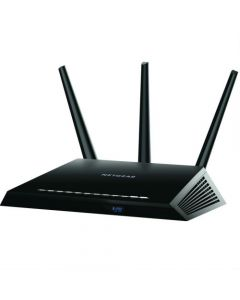 Netgear® R7000 Nighthawk® AC1900 Dual Band 2.4/5GHz Wireless-AC 802.11 a/b/g/n/ac Gigabit Router (R7000-100PAS)