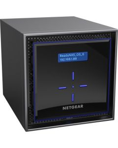 NETGEAR ReadyNAS RN424 4-bay Desktop NAS 4x6TB Enterprise HDD (RN424E6-100NES)