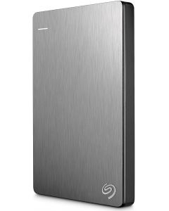 Seagate Backup Plus Slim 1TB USB 3.0 Portable External Hard Drive with Mobile Device Backup STDR1000101 (Silver)