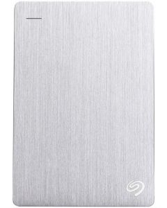 Seagate Backup Plus 5TB USB 3.0 Portable External Hard Drive with Mobile Device Backup STDR5000101 (Silver)