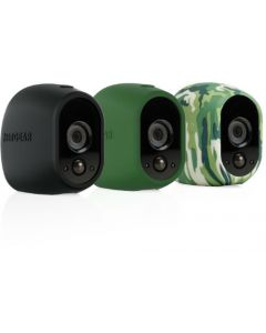 Netgear® VMA1200 Arlo™ Replaceable Silicone Skins (Black/Green/Camo)