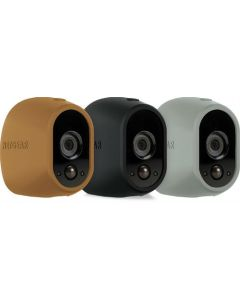Netgear® VMA1200D Arlo™ Replaceable Silicone Skins (Brown/Black/Grey)