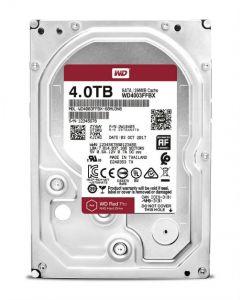 """Western Digital Red Pro WD4003FFBX 4 TB 3.5"""" Internal Hard Disk Drive (HDD) SATA III 6.0Gb/s 7200 RPM 256 MB (20PK)"""