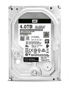"""Western Digital Black WD4005FZBX 4 TB 3.5"""" Internal Hard Disk Drive (HDD) SATA III 6.0Gb/s 7200 RPM 256 MB"""