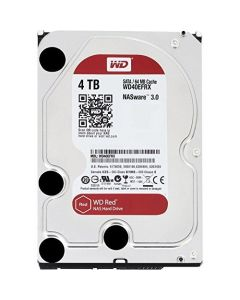 """Western Digital Red WD40EFRX 4 TB 3.5"""" Internal Hard Disk Drive (HDD) SATA III 6.0Gb/s 5400 RPM 64 MB (20PK)"""